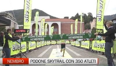 Nembro, Fabio Bonfanti vince il Podone Skytrail