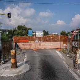 Calusco: «Il ponte non aprirà alle auto Ci vorranno almeno due anni di lavori»
