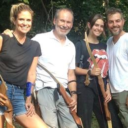 Filippa e Daniele nuove frecce orobiche  La nota coppia tv si allena ad Alzano
