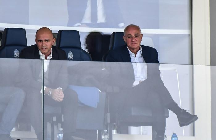 07 Ottobre 2018 SERIE A Atalanta-Sampdoria Nella foto: luca e Antonio percassi