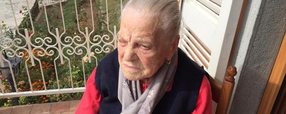 Villa d'Ogna, Maria compie 110 anni È la decana dei bergamaschi