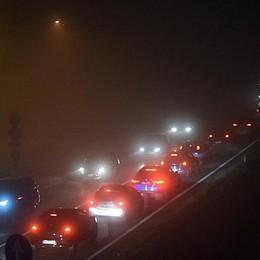 Cantiere stradale a Strozza Traffico bloccato per chilometri