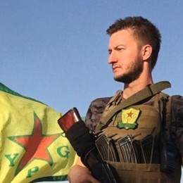 Da Curno ha combattuto in Siria Claudio: «Così abbiamo cacciato l'Isis»