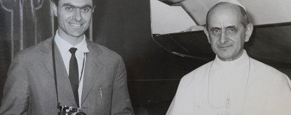 Pepi Merisio racconta Paolo VI - Video «Ricordo la foto fatta insieme in India»