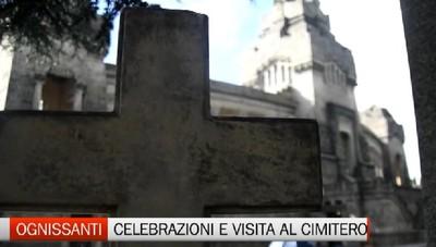 Ognissanti e i defunti, la celebrazione del Vescovo nella chiesa del cimitero