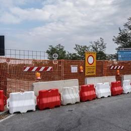 Ponte chiuso, affari azzerati A Calusco chiude l'ortofrutta