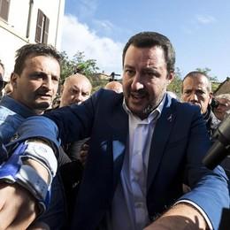 Salvini vuole Roma Attacco al Campidoglio