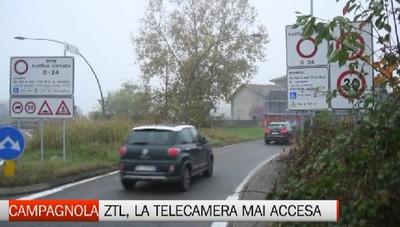 Campagnola, telecamera per la Ztl mai accesa