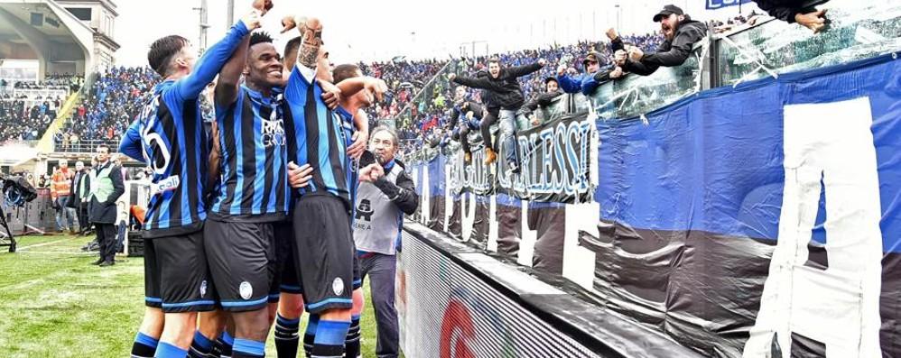 Atalanta stellare, Inter battuta 4 a 1 Partita perfetta, nel finale perla di Gomez