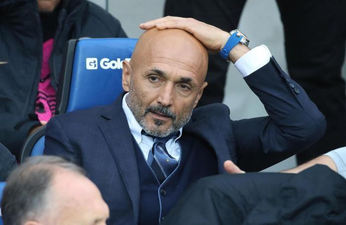Inter's haead coach Luciano Spalletti