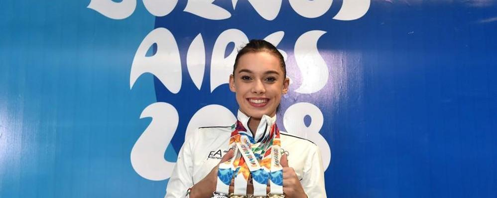 «Festeggiamo la fata olimpica» Brembate celebra Giorgia Villa