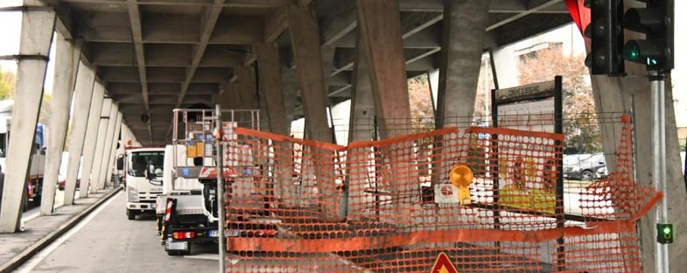 Viadotto, i lavori slittano a marzo «Nessun problema di sicurezza»