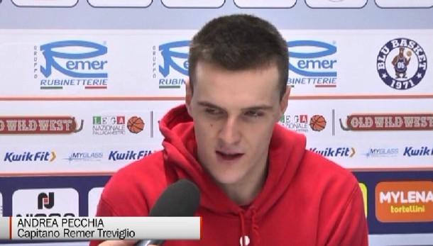 Basket, Pecchia miglior giovane della serie A2