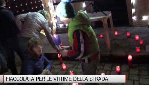 Berzo San Fermo, fiaccolata per le vittime della strada