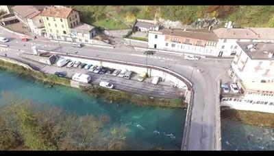 Conclusi i lavori alla Selva, aperte le curve Guarda il video girato dal drone