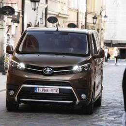 Toyota Proace Verso nella nuova versione
