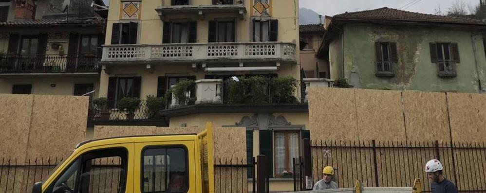 Esplosione a S.Giovanni Bianco Gravissima la 97enne, 7 sfollati -Foto