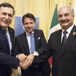 Libia, l'Italia c'è Un passo avanti