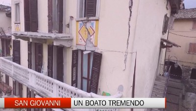 San Giovanni: Un boato tremendo