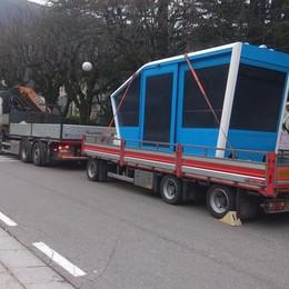 San Pellegrino, arrivate le nuove cabine  La funicolare tornerà in funzione in estate