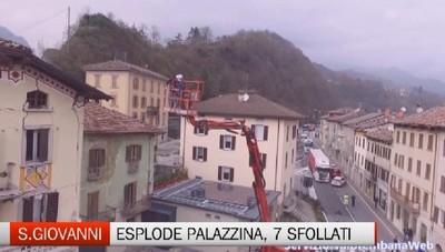 S.Giovanni Bianco: esplode una palazzina