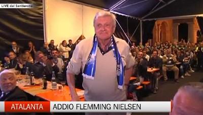 Atalanta, addio a Flemming Nielsen
