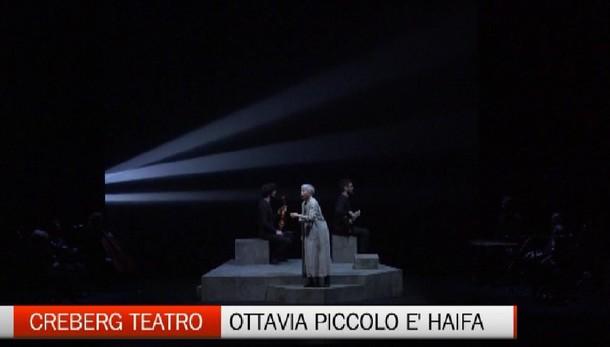 Sulla rotta dei Balcani con Haifa  Al Teatro Creberg c'è Ottavia Piccolo