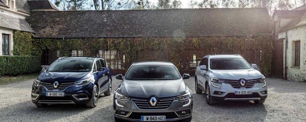 Top di gamma Renault Nuove dotazioni