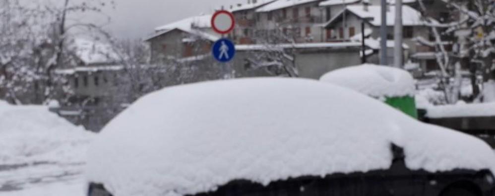 La neve sulle nostre montagne Guarda le foto di questa mattina