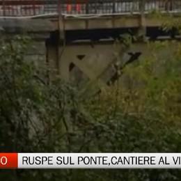 Ruspe sul Ponte di Calusco, tra 152 giorni sarà riaperto ai pedoni