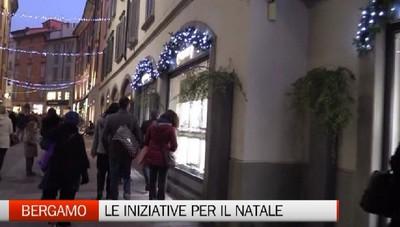 Bergamo si colora di Natale. Da sabato accese le luminarie