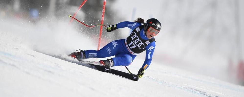 Continua il recupero di Sofia Goggia «Mobilità buona, ho tolto una stampella»