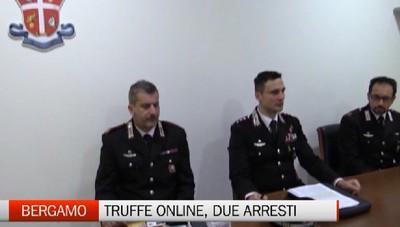 Bergamo - Truffe online, due arresti