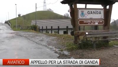 Aviatico-Gazzaniga, i problemi della strada di Ganda