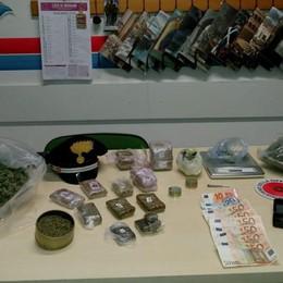 Controlli a Villa d'Almè, Zogno e Isola In manette operaio con 2,6kg di droga