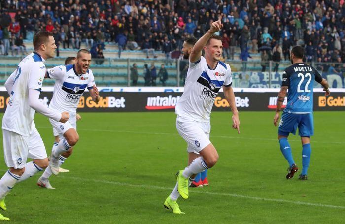 Serie A TIM 2018-19 giornata 13 empoli - atalanta dopogol hateboer hans 0-2