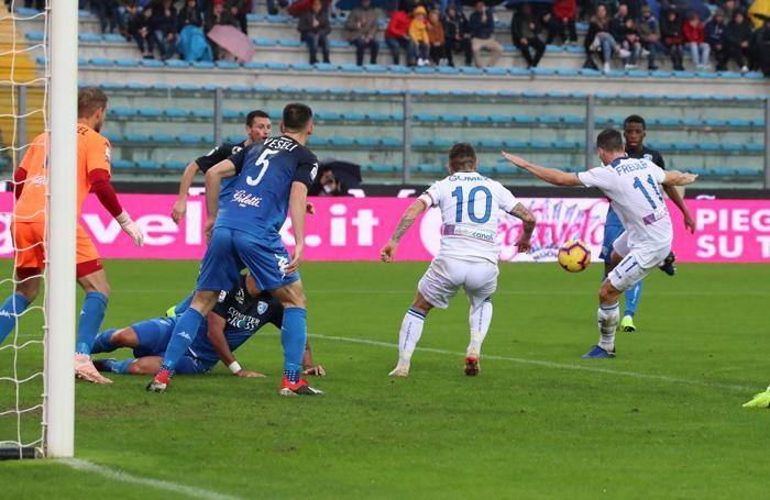 Serie A TIM 2018-19 giornata 13 empoli - atalanta gol freuler remo