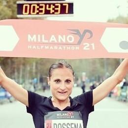 Sara Dossena e il «dopo New York» Prima alla Milano21 Half Marathon