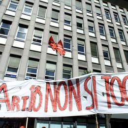 Reintegrata «nonostante» il Jobs Act A Bergamo primo caso in Italia