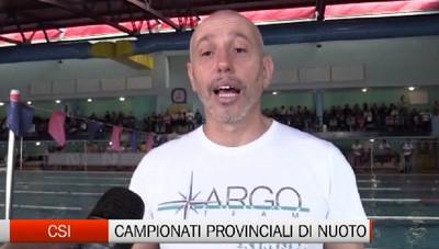 Csi, campionati provinciali di nuoto