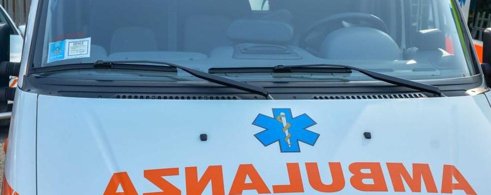 Incidente con 5 feriti ad Albino Traffico in tilt sulla provinciale