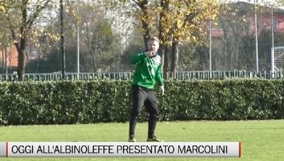 AlbinoLeffe, la presentazione di Marcolini