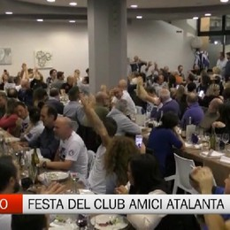 La festa del Club Amici Atalanta Sarnico