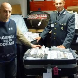 In valigia 28 chili di sigarette Arrestato allo scalo di Orio