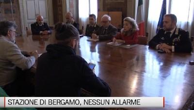 Le forze dell'ordine: Stazione di Bergamo, nessun allarme sicurezza