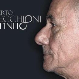 Vecchioni, incontra i fan a Stezzano Domenica con il nuovo album «Infinito»