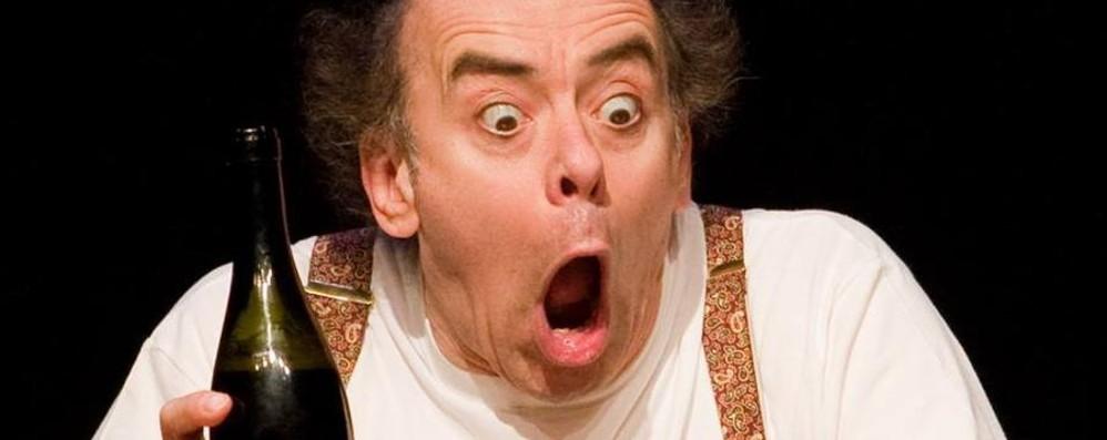 La comicità di Paolo Nani «La lettera» in scena a Treviglio