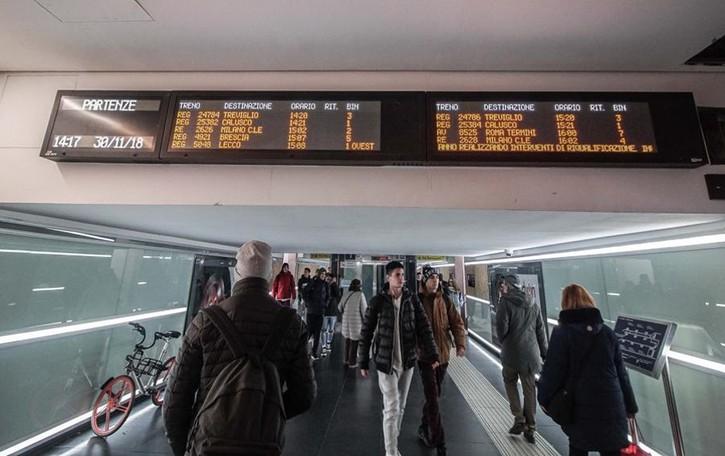 Tornelli in stazione a Bergamo Il sottopasso stoppa i progetti di Rfi