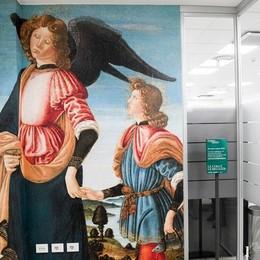 Con «La cura e la bellezza» l'arte della Carrara entra in ospedale
