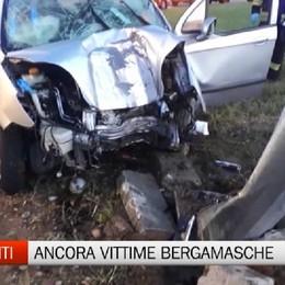 Incidenti - Due vittime bergamasche